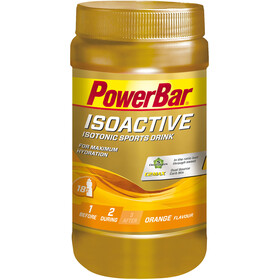PowerBar Isoactive Isotonic Sports Drink Purkki 600g, Orange